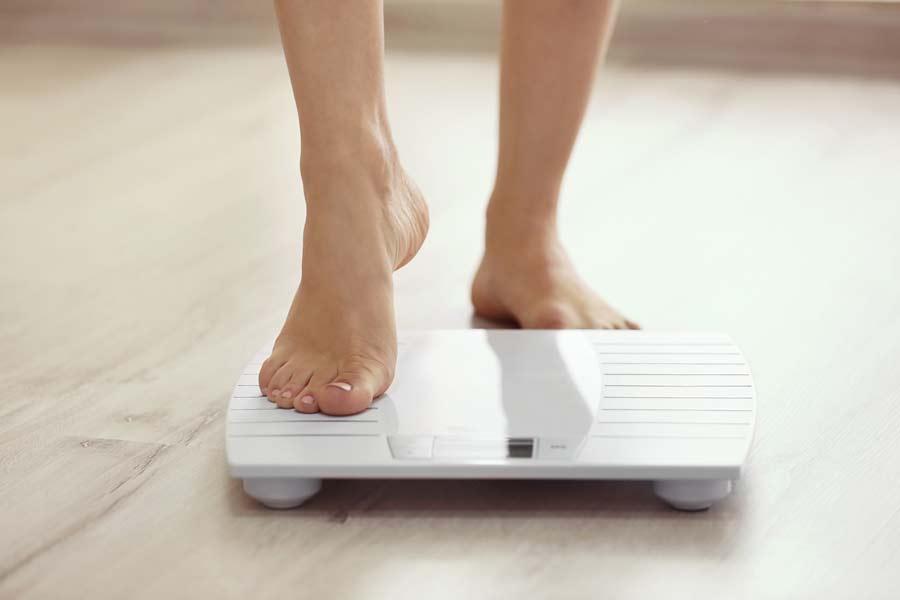 BMI bathroom scale